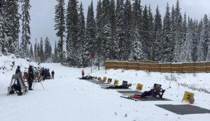 Biathlon practice, November 20, 2016